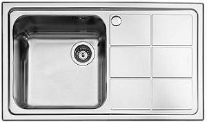 Foster stainless steel sink